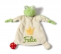 Mobile Preview: Nici Schmusetuch Frosch 39240