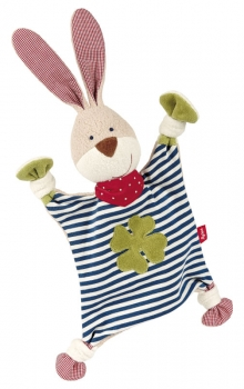 Sigikid Organic Collection Schnuffeltuch Hase 40504