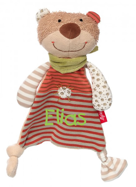 Sigikid Organic Collection Schnuffeltuch Bär 48917